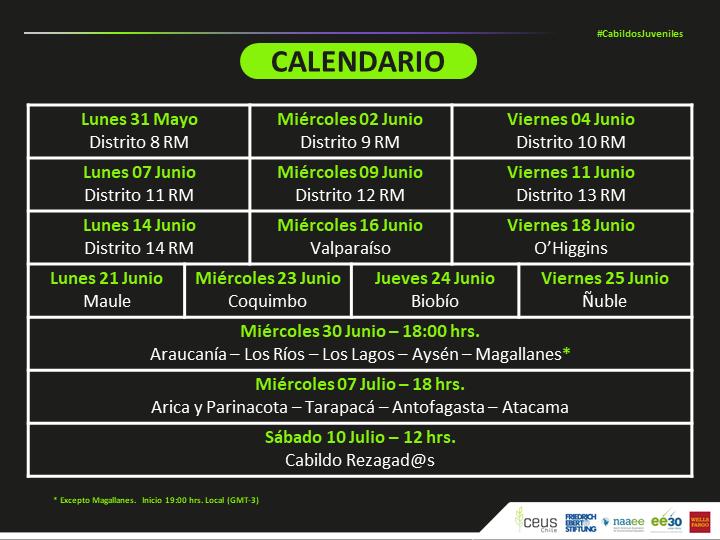 Calendario Cabildos modificado